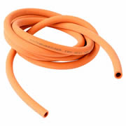 Rothenberger 67017 Rothenberger U-Gauge Rubber Manometer Hose - Orange