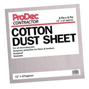Prodec Prodec Contractor 12' X 12' Cotton Dust Sheet