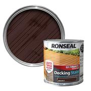 Ronseal  Ronseal Ultimate Protection Decking Stain 2.5L Walnut
