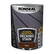 Ronseal Ronseal Ultimate Protection Decking Stain 5L Walnut
