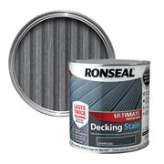 Ronseal Ronseal Ultimate Protection Decking Stain 2.5L Charcoal