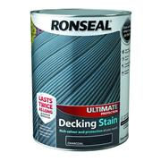 Ronseal  Ronseal Ultimate Protection Decking Stain 5L Charcoal