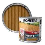 Ronseal  Ronseal Ultimate Protection Decking Stain 2.5L Country Oak