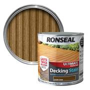 Ronseal  Ronseal Ultimate Protection Decking Stain 2.5L Dark Oak