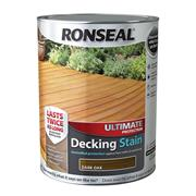 Ronseal  Ronseal Ultimate Protection Decking Stain 5L Dark Oak