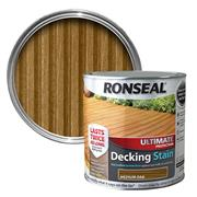 Ronseal  Ronseal Ultimate Protection Decking Stain 2.5L Medium Oak
