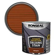 Ronseal  Ronseal Ultimate Protection Decking Stain 2.5L Rich Mahogany