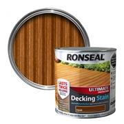 Ronseal  Ronseal Ultimate Protection Decking Stain 2.5L Teak