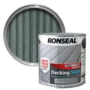 Ronseal  Ronseal Ultimate Protection Decking Stain 2.5L Stone Grey