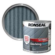 Ronseal  Ronseal Ultimate Protection Decking Stain 2.5L Slate
