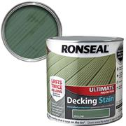 Ronseal  Ronseal Ultimate Protection Decking Stain 5L Willow