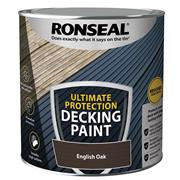 Ronseal  Ultimate Protection Decking Paint English Oak 2.5 litre