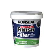 Ronseal  Ronseal Smooth Finish Exterior Multi Purpose Ready Mix Filler Tub 1.2kg