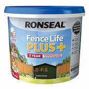 Ronseal  Ronseal Fence Life Plus+ Forest Green - 9L