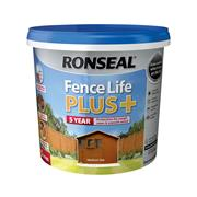 Ronseal FLPPMO5L Ronseal Fence Life Plus+ Medium Oak 5L
