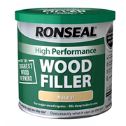 Ronseal HPWFD275G High Performance Wood Filler Dark 275g