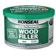 Ronseal HPWFW275G High Performance Wood Filler White 275g