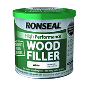 Ronseal HPWFW550G Ronseal High Performance Wood Filler White 550g
