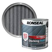 Ronseal  Ronseal Ultimate Protection Decking Stain Charcoal 2.5 Litre + Extra 25%