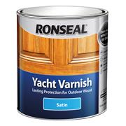 Ronseal YVS1L Exterior Yacht Varnish Stain 1L