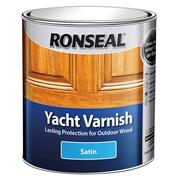 Ronseal YVS250 Exterior Yacht Varnish Stain 250ml