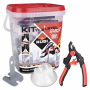 Rubi 02941 Rubi Tile Level Quick Kit