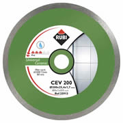 Rubi 25913 Rubi CEV 200 PRO Diamond Blade for DU200L  - General Cutting