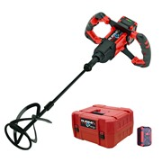 Rubi 26965 18v Brushless Paddle Mixer with 1 x 5Ah Battery, Charger and Case