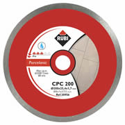 Rubi 30956 Rubi CPC 200 PRO Diamond Blade for DU200L  - Porcelain Cutting