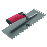 "Rubi 72909 Rubi ""Rubiflex"" Adhesive Trowel (10mm Square Notch)"