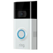 Ring RVDSN2 Ring Video Doorbell 2 Satin Nickel