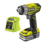 Ryobi RID18113G 18v ONE+ Impact Driver with 1 x 1.3Ah Battery and Charger