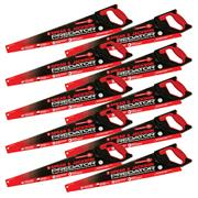 Spear & Jackson B9822PK10 Predator Universal 550mm/22'' Handsaw - Pack of 10