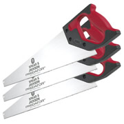 Spear & Jackson B9822 Predator Universal 550mm/22'' Handsaw - Pack of 3