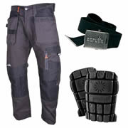 Scruffs T5193-DGR KIT Trousers with Holster Pockets Kit - Graphite