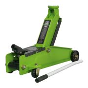 Sealey 1153CXHV Sealey Trolley Jack Heavy Duty 3 Tonne Hi-Vis Long Chassis