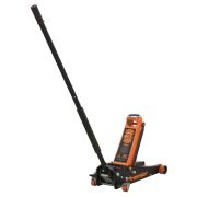 Sealey 3040AO Trolley Jack 3 Tonne Rocket Lift - Orange