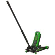 Sealey 4040AG Trolley Jack 4 Tonne Rocket Lift - Green