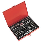 Sealey AK3028 Sealey 28 Piece Metric Tap & Die Set