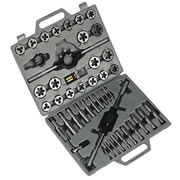 Sealey AK303 Sealey 45 Piece Metric Tap & Die Set