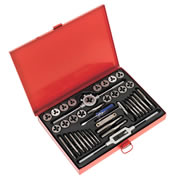 Sealey AK3040 Sealey 40 Piece Metric Tap & Die Set
