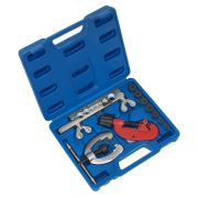 Sealey AK506 10 Piece Pipe Flaring & Cutting Kit