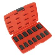 "Sealey AK5613M Impact Socket 13 Piece Set 1/2"" Square Drive Metric"
