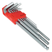 Sealey AK7140 Sealey Ball-End Hex Key Set 9pc Extra-Long Metric