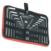 Sealey AK7157 Sealey TRX-Star & Ball-End Hex Key Set 19pc Long