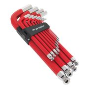 Sealey AK7187 Jumbo Ball-End Hex Key 13 Piece Set Anti-Slip Metric