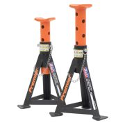 Sealey AS3O Sealey Axle Stands 3 Tonne Capacity per Stand Orange (Pair)