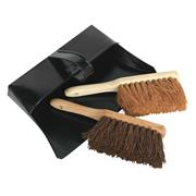 Sealey BM26 Dustpan & Brushes Metal