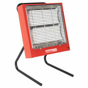 Sealey CH2800 Sealey Ceramic Heater 1.4/2.8kW - 240v