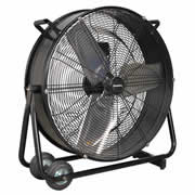 "Sealey HVD24 Sealey 24"" High Velocity Drum Fan"